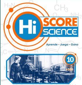 Hi Score Science.  Aprende ciencia jugando.